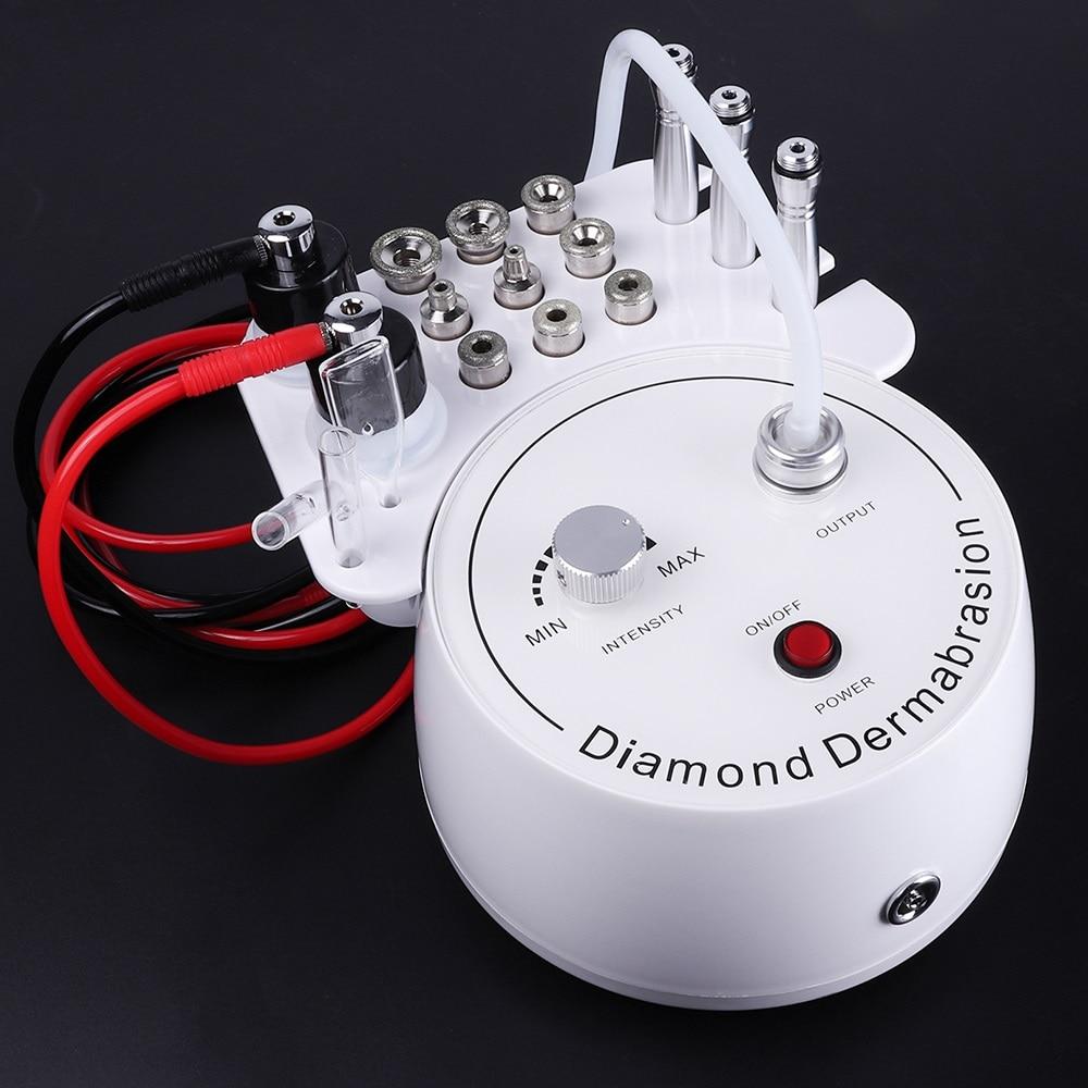 Máquina de exfoliación con microdermoabrasión 3 en 1, máquina de exfoliación con Spray de agua, máquina de eliminación de dermoabrasión, exfoliación Facial de arrugas para SPA