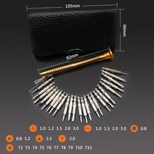 25 PC Small Mini Precision Screwdriver Set Watch Jewelry Electronic Repair Tool tools herramientas