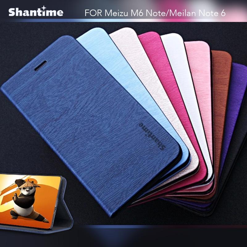 Чехол для телефона из искусственной кожи для Meizu M6 Note, флип-кейс для Meizu 16, чехол для бизнес-книги для Meizu 16X, Мягкий ТПУ силиконовый чехол для з...