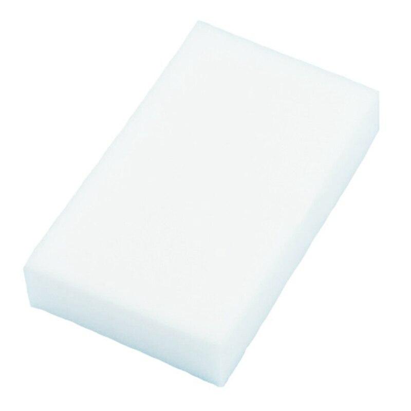 20Pcs Magic Multi Sponge Clean Foam Cleaner Cleansing Eraser Car Wash Kitchen 10cm×6cm×2cm(White)
