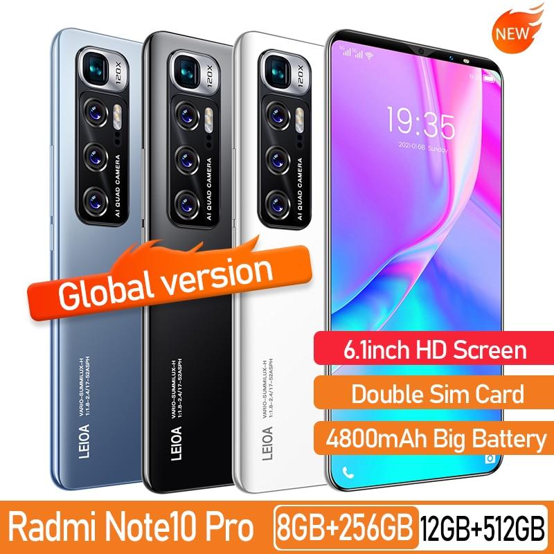 Rino3 Pro 5.8-هاتف ذكي ، إصدار عالمي ، شاشة كاملة ، ثماني النواة ، 4000 مللي أمبير ، 4 جيجابايت 64 جيجابايت ، شبكة 4G LTE ، 5G
