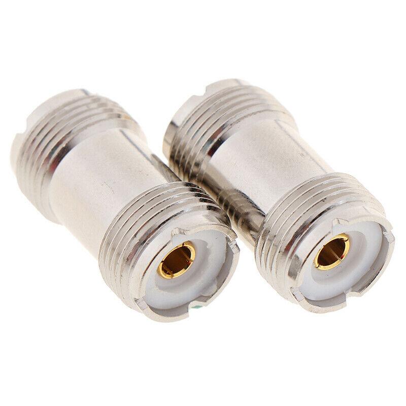 1 ud. SO-239 PL259 UHF hembra a hembra Cable Coaxial conector adaptador SO239 adaptador Coaxial