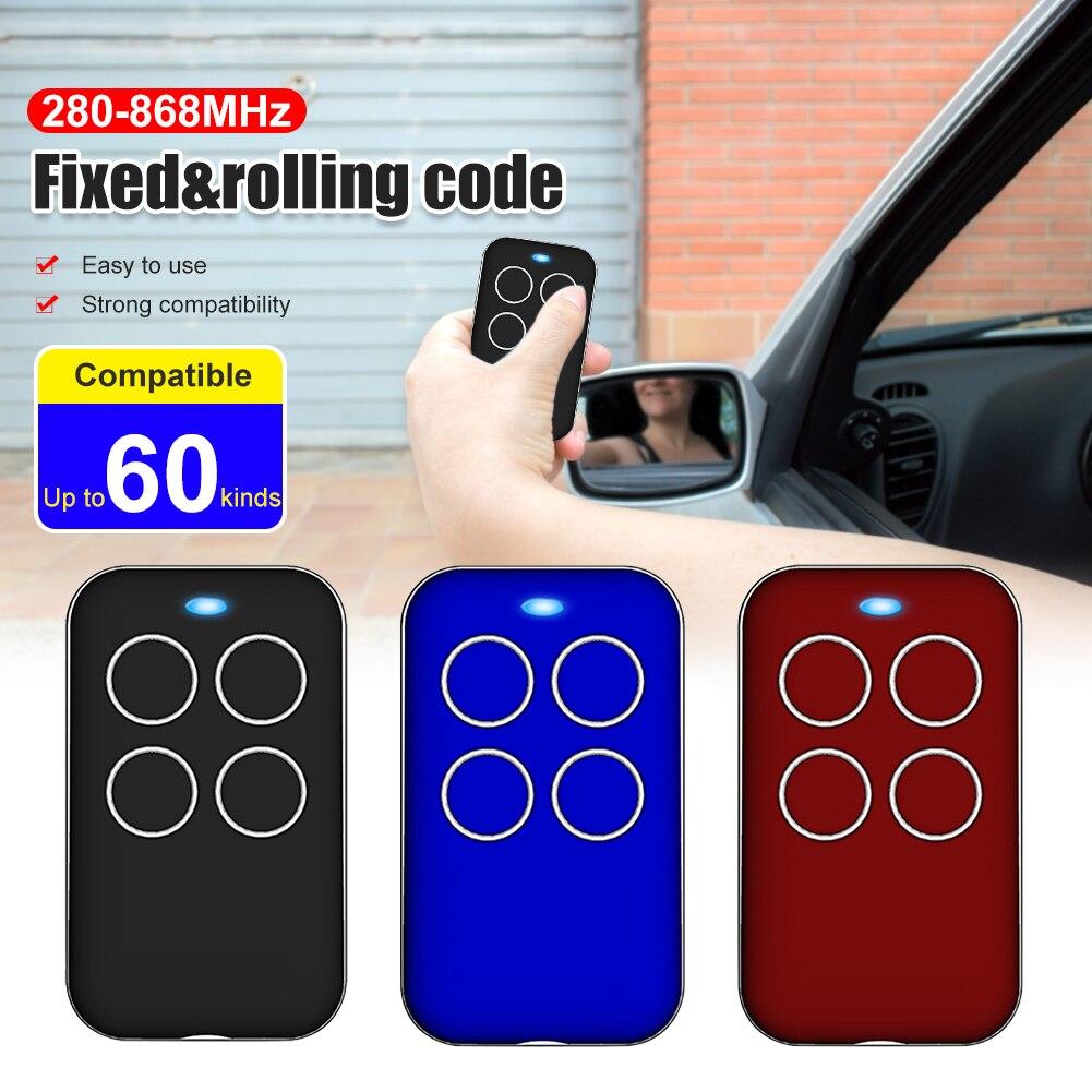 280-868MHz Universal Fix Rolling Gate Garage Door Remote Control Compatible Tool For Gate Garage Door Alarm Auto Door