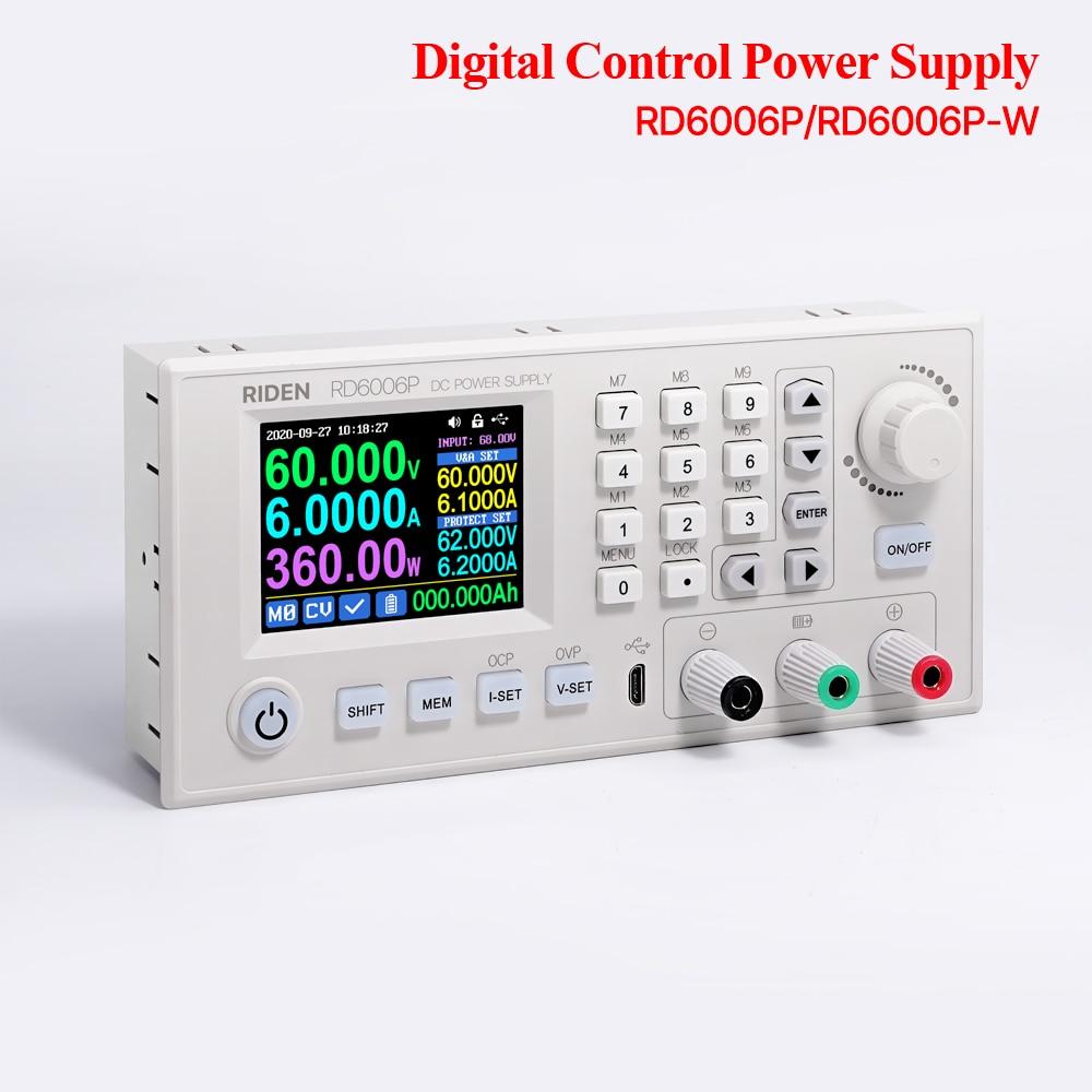 RD6006P RD6006PW وحدة امدادات الطاقة وحدة تنحى محول جهد كهربي 60 فولت/6A متعدد USB واي فاي الحالي تنحى امدادات الطاقة