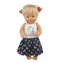 2020 lovely New Dolls Dress For 42 cm Nenuco Doll 17 Inches Baby Doll Clothes