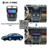 skyfame for nissan teana 2003 2006 2007 car radio stereo android multimedia system dsp gps navigation player