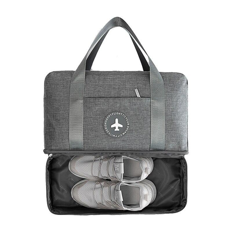 Дорожная сумка, органайзер для багажа, сумка для хранения одежды и обуви, сумочка для туалетных принадлежностей, водонепроницаемая вместит...