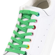 Flat Elastic Shoelaces Plastic snap lock Sports competition Walking outdoors No tie shoelace Child a