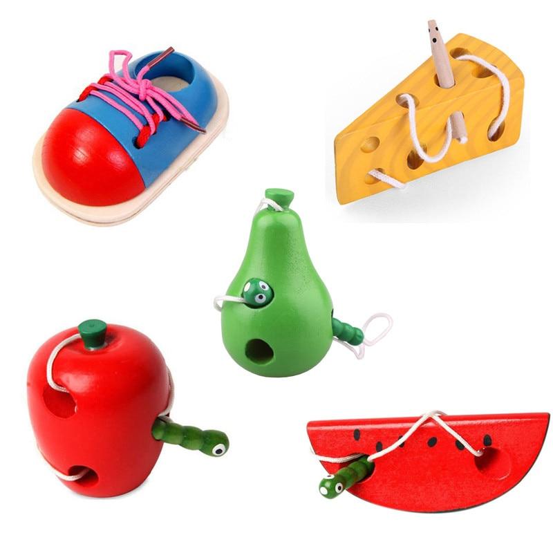 Обучающие игрушки Монтессори для детей, развивающие игрушки для ранних игр, математические деревянные игрушки, интерактивные игрушки для д...