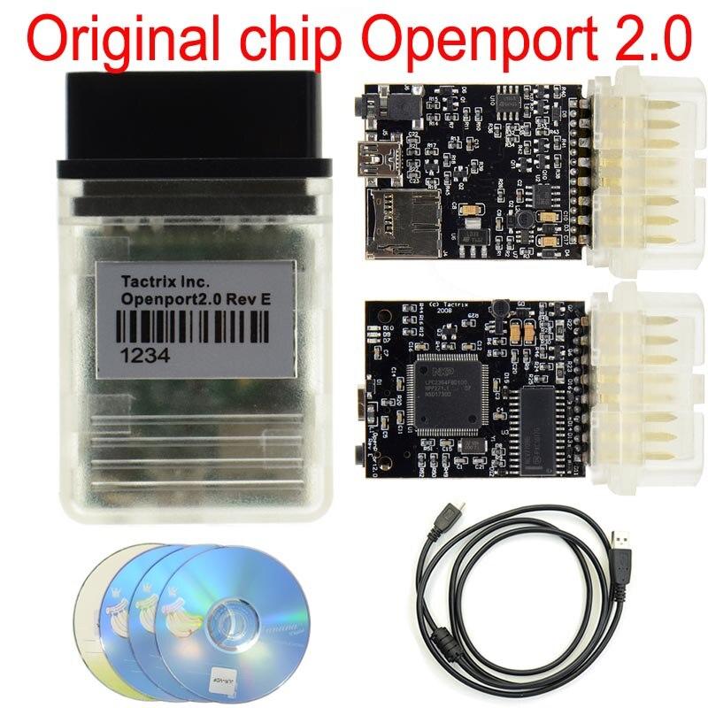 Nieuwe Tactrix Openport 2.0 Ecu Flash Chip Tuning Interface Tactrix Openport2.0 Diagnose Ecu Chip Tunning Werkt Voor Multi-Brand auto