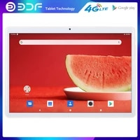 bdf new arrival android 9 0 10 inch tablet pc octa core 4g lte network 2gb 32gb rom dual sim card wifi bluetooth gps google 10 1