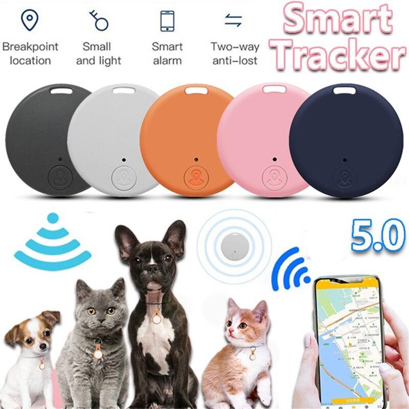 GPS-трекер с защитой от потери, миниатюрный беспроводной GPS-трекер с функцией Bluetooth, для путешествий, для детей, для старых сумок, с кошельком, с функцией поиска ключей, с сигналом против потери