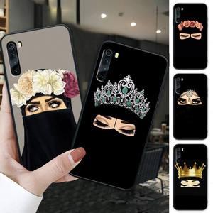 Hijab niqab islam Muslimah Girl black soft phone case cover for xiaomi redmi 4X 5 plus 6 6A 7 7A 8 8A 9 note 4 8 T 9 pro max