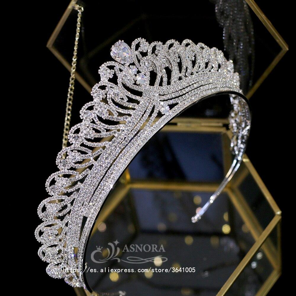 جديد كورولا سبائك الزنك غطاء الرأس للعروس تيجان نوبل العروس الزفاف تاج هدية اكسسوارات A00655