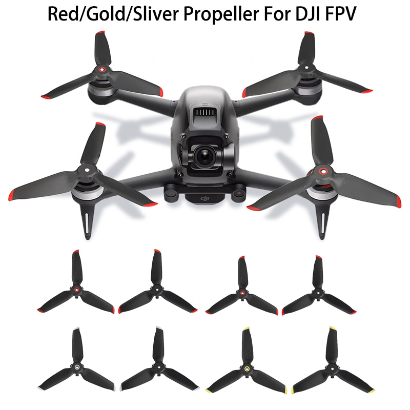 Drone Propellers For DJI FPV Combo Drone Quiet Flight Propellers Replacement Spare Part For DJI FPV Combo Accessories