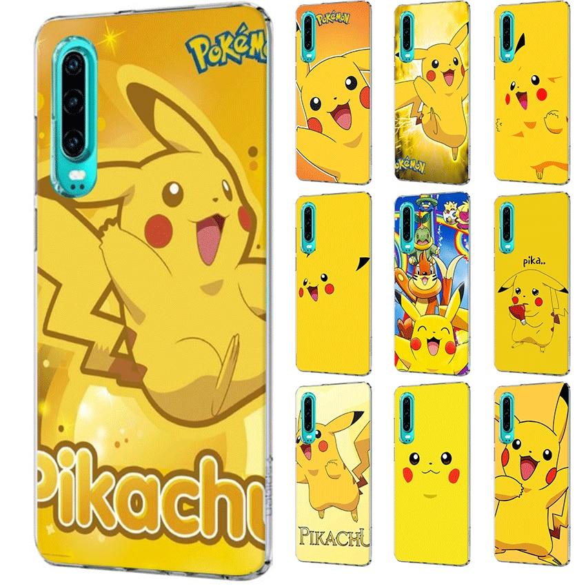 Funda del teléfono para Huawei Honor 20 8 8X 8C 8 9 9X Pro Lite Nota 10 jugar 6A 7A 7C 7X cubierta Pikachues