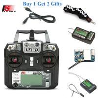 FLYSKY FS-i6X i6X 2.4G 10CH AFHDS 2A Radio Transmitter with X6B/iA6B/A8S/iA10B/iA6 Receiver for RC Airplane Helicopter FPV Drone