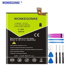 Аккумулятор WONKEGONKE Li3928T44P8h475371 для ZTE Blade A1 C880 C880U C880A C880S AXON Mini B2015 B2016 Xiaoxian3 Bateria