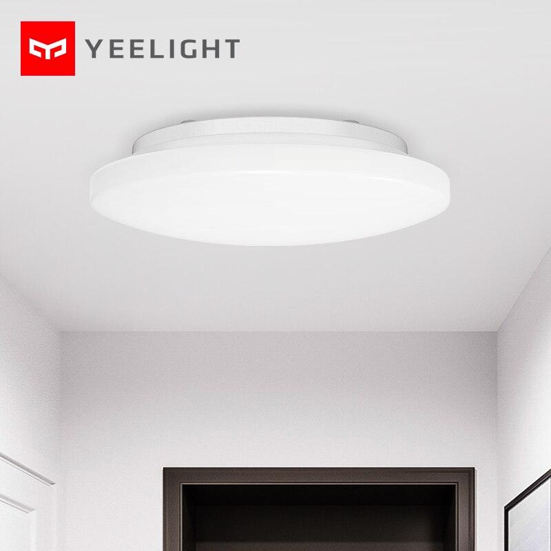 Novo 2020 yeelight inteligente conduziu a luz de teto controle remoto jiaoyue 260 lâmpada do teto redonda de mijia youpin