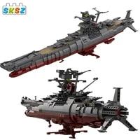 star space ship series new moc building blocks space battleship japan yamato model bricks kid diy toys birthday xmas gifts
