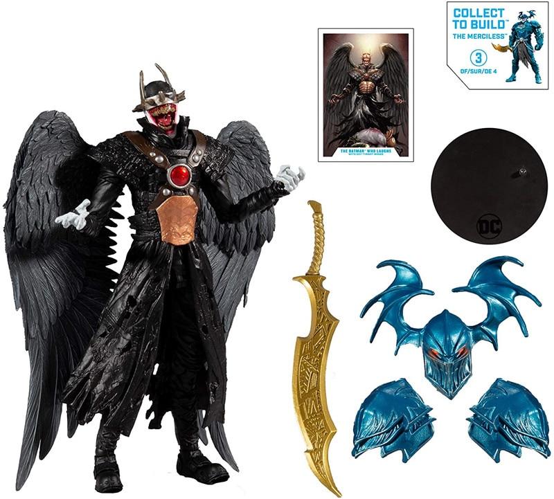 1pcs 7Inches 2021 New Mcfarlane DC Multiverse Build Action Figure Wave Batman Who Laughs Hawkman Pvc Anime Kids Model Collection