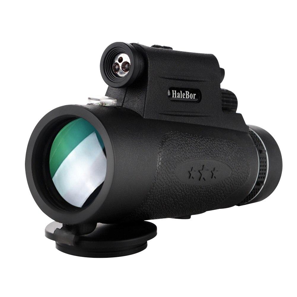Fotografía telescopio Monocular visión nocturna portátil gran angular senderismo impermeable HD 100x90 prisma BAK4 de alta potencia