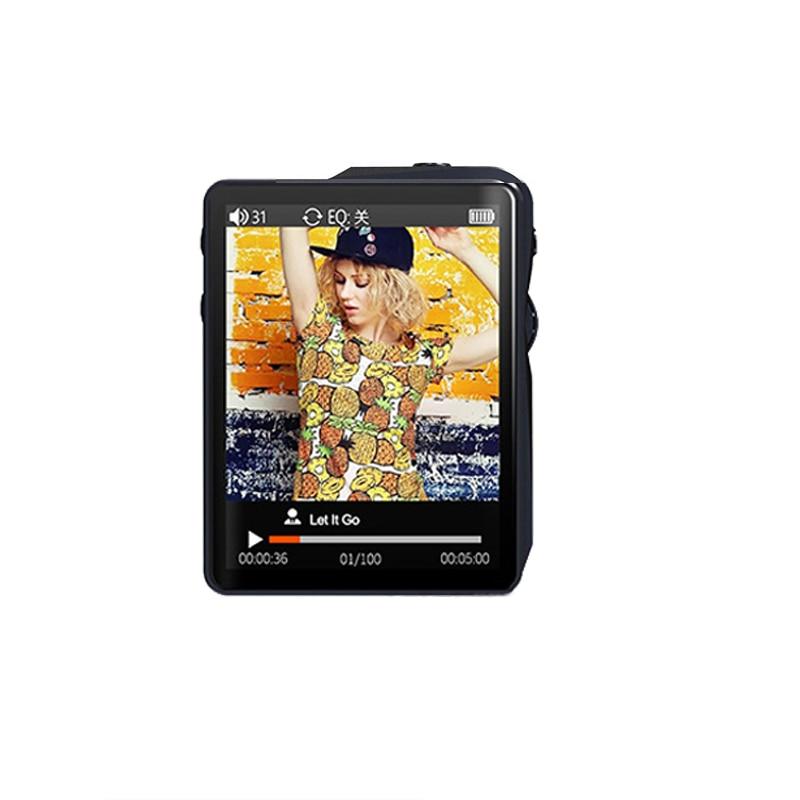 Reproductor de música portátil MP3 Super Mini Mp3 profesional HIFI DSD256 deporte sin pérdidas Mp3 Alta Resolución Walkman soporte OTG AIFF TF