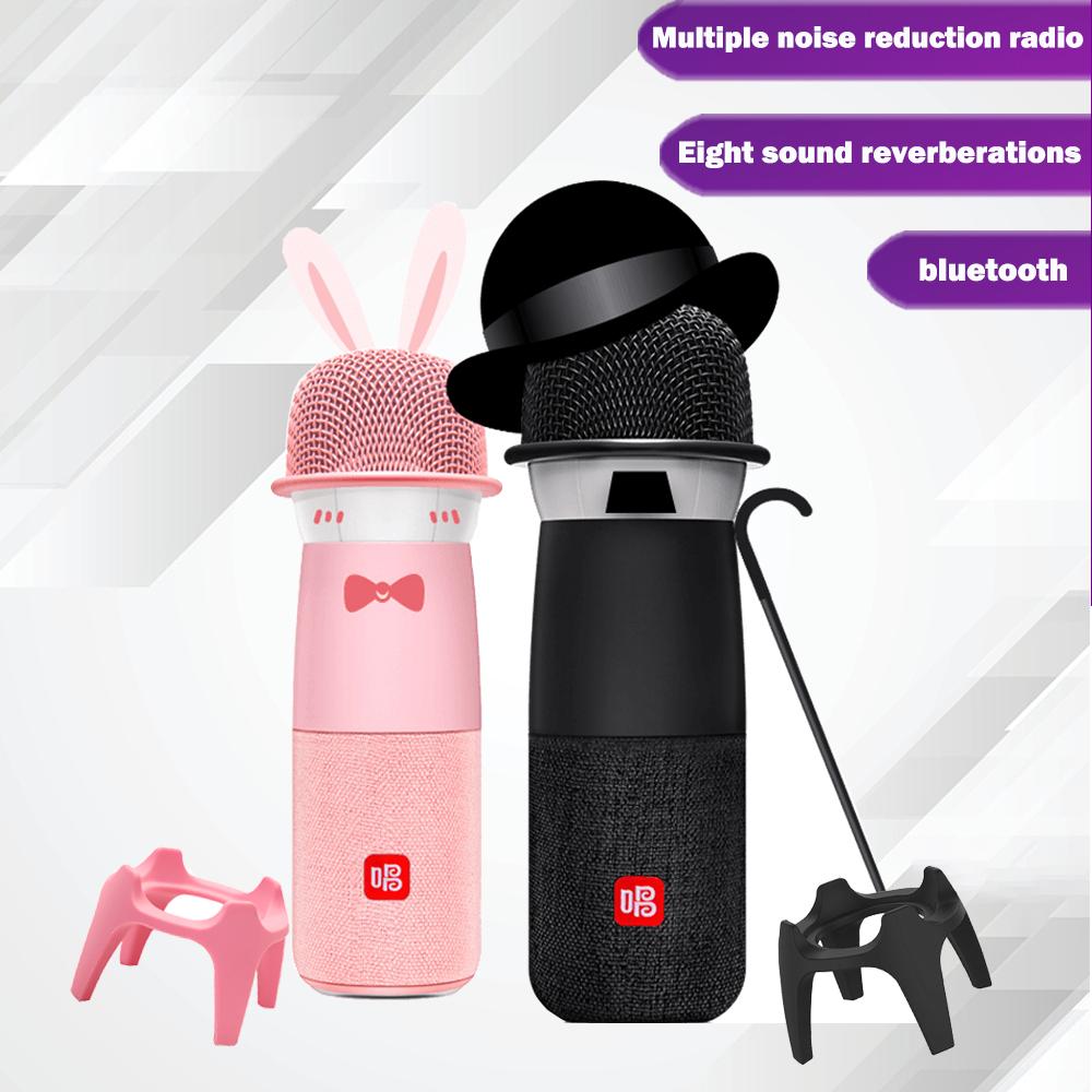NEW G2 G1 Q3 Big Egg Changba Arena Microphone Wireless Bluetooth Karaoke Micro-phone Sing  YouTube  speaker  podcast equipment enlarge