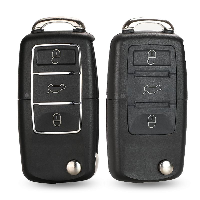 jingyuqin 3 Botones alejado de la llave del tirón del coche llave...