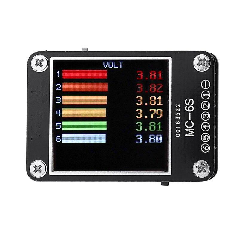 MC-6S 1-6S Lipo Batterie Spannung Checker Empfänger Signal Tester Für Überprüfen S-Bus PPM PWM Und DSM Spannung Tester Drone Zubehör X4