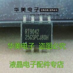 Entrega gratuita. Rt9042 autêntico lcd chip de gerenciamento de energia sop-8
