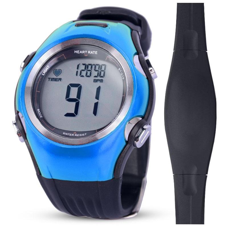 Men Women Workout Sports Wrist Watches Running Chest Strap Fitness Pulse Calories Wireless Heart Rate Monitor Digital Polar