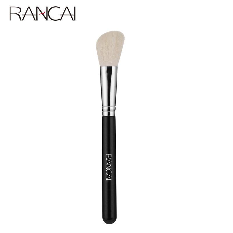 RANCAI Make-Up Pinsel Schräge Kontur Gesichts Flüssige Foundation Erröten Concealer Song und Dance Ka Pinsel Make-Up Pincel Maquiagem