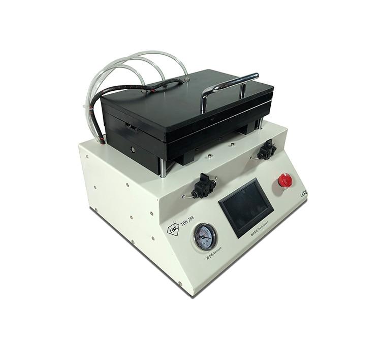 Separadores de máquina de desmontaje de Marco completamente automático de TBK-288, equipo de reparación de pantalla defectuosa para teléfono móvil, separador de prensa de pantalla
