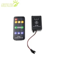 led pixel rgb controller rf music remote mini controller jm sp106e dc5 12v 1000 points full color led controller