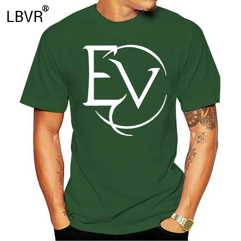 Camiseta nova do logotipo de evanescence