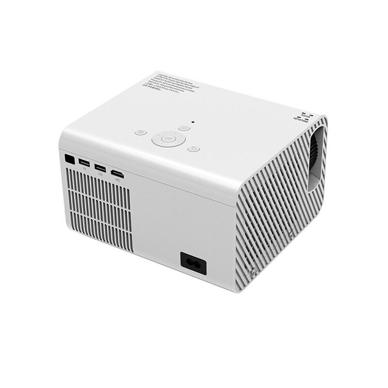 UNIC T10 جهاز عرض صغير محمول 3500lms 1280*720 إضاءة ليد كاملة الوضوح السينما المنزلية Miracast/Airplay العارض 1080p