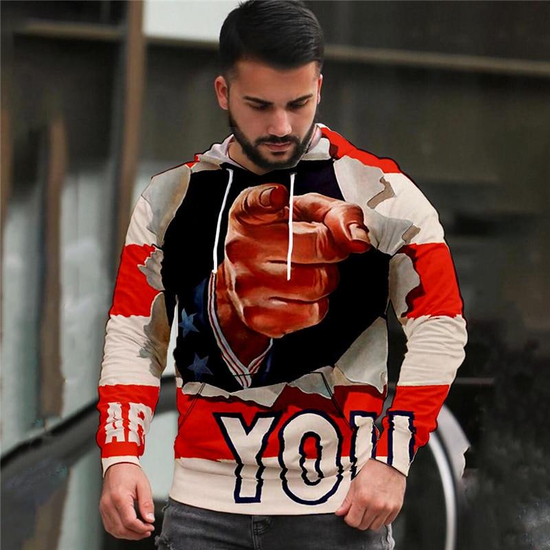 Модель 2021 года, мужские свитшоты Truien Nieuwe в уличном стиле, мужские спортивные свитшоты с 3d-рисунком черепа, толстовка с капюшоном с изображен...