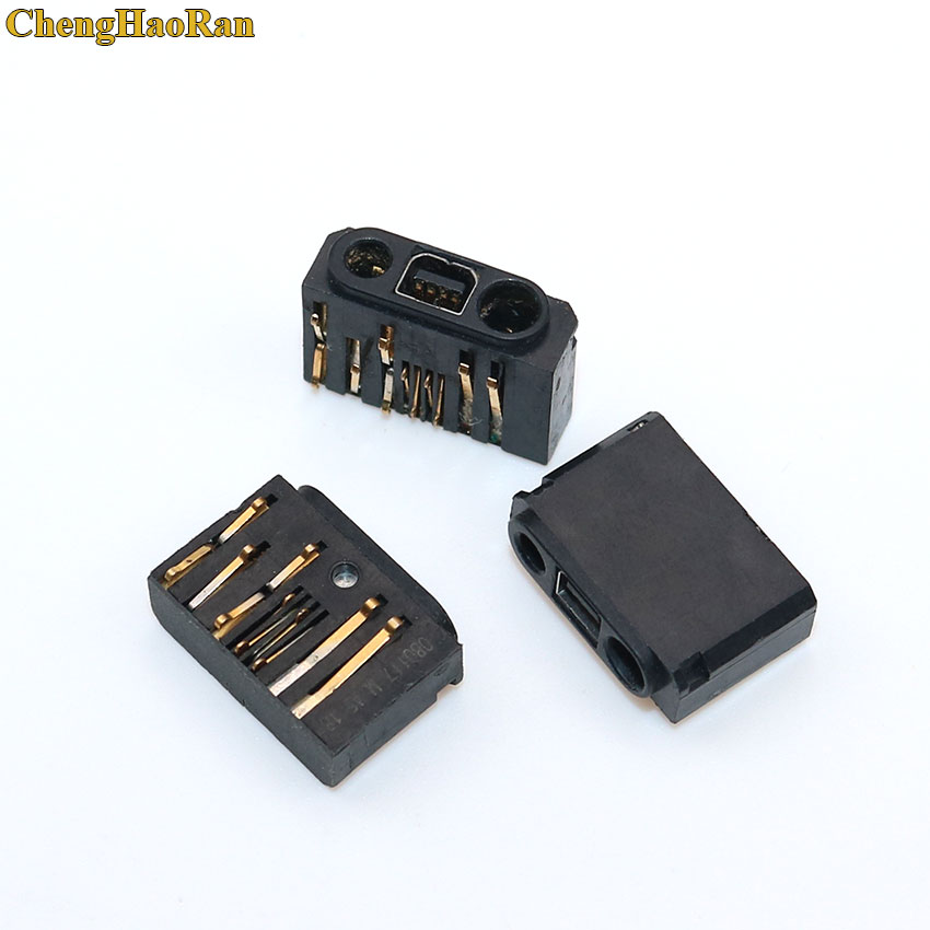 ChengHaoRan 2x For Nokia 1600 1110 2610 1110i 2630 6030 1112 1116 USB Jack Charging Port Connector Plug Socket Dock Repair Parts