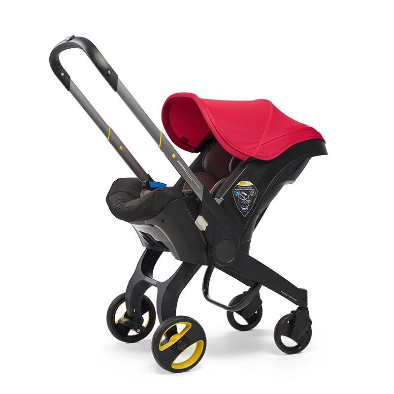 4 In1 Multifunctional Car Seat Stroller Baby Carriage Basket Portable Travel System Stroller Safety Seat for 0-3 Years