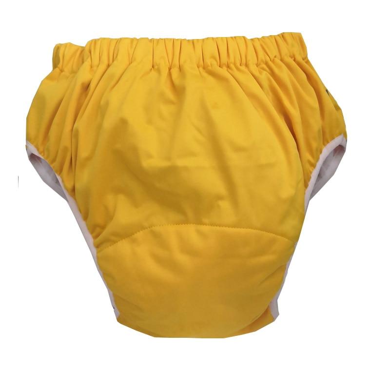 Фото - 4 цвета на выбор, водонепроницаемые подгузники для взрослых, подгузники, штаны для взрослых, XS S M L подгузники для взрослых id подгузники для взрослых slip basic m 30 шт