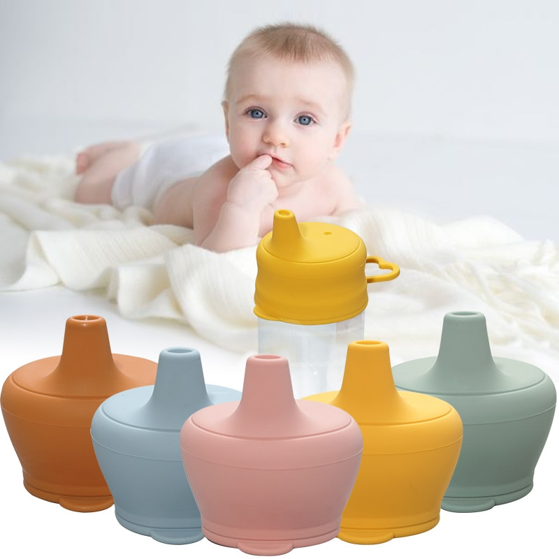 Silicon Baby Feeding Cups Fashion Baby Drinkware Sippy Cups For Toddlers & Kids With Silicone Sippy Cup