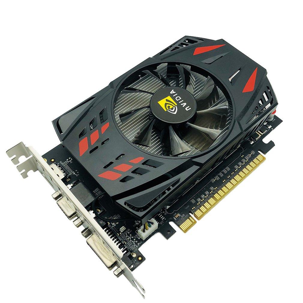 550TI 128BIT GPU 1GB/2GB GDDR5 128bit Gaming Computer Video Graphics Cards for GTX Single Fan with Temperature Control