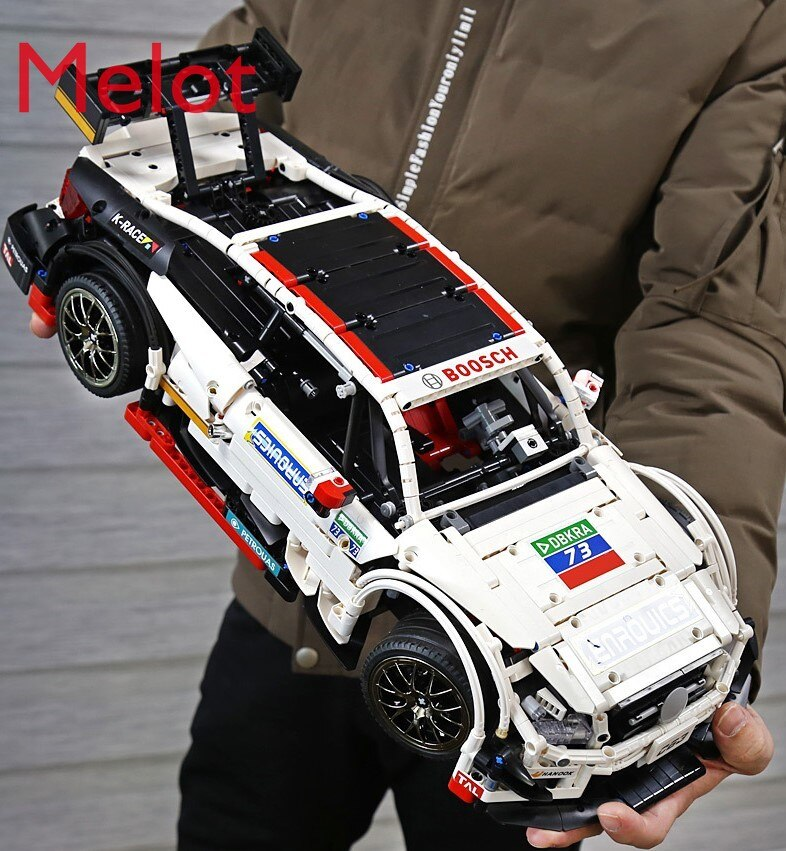 Mechanical Remote Control Sports Car Bull Big G GTR Assembled Toy Car Model Parent-Child Game Improve Children's Intelligence enlarge