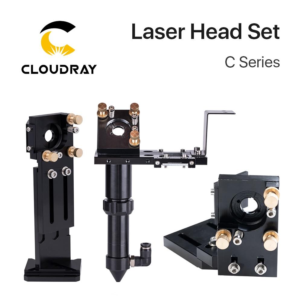Cloudray CO2 الليزر سماعات رأس عدسة D18 FL38.1 D20FL50.8/63.5/101.6 مللي متر التكاملية جبل Dia25 مرآة ل آلة تقطيع بالليزر