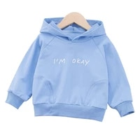 new spring autumn children casual cotton clothes baby boys girls letter hoodies toddler clothing kids fashion print tracksuits