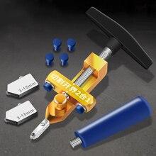 Cortador de rueda utensilios con cuchillas 2 en 1 cortador de azulejos de cerámica Aleación de diamante 1 pieza abrelatas cabeza de Metal cortador de azulejos de vidrio portátil