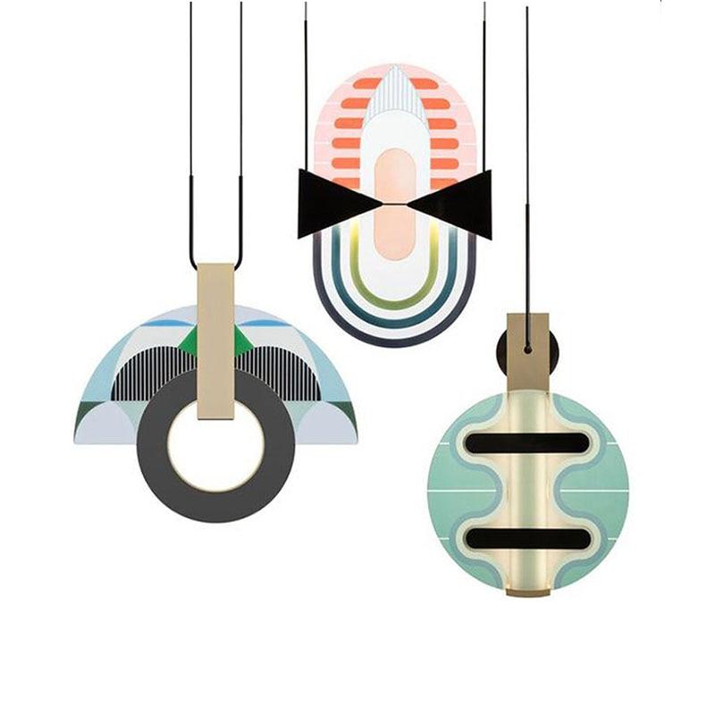 Glass Pendant Lights Italian Design Dinning Room Light Bedroom Living Decor Hanging Lamps Bar Exhibition Modern Chandeliers