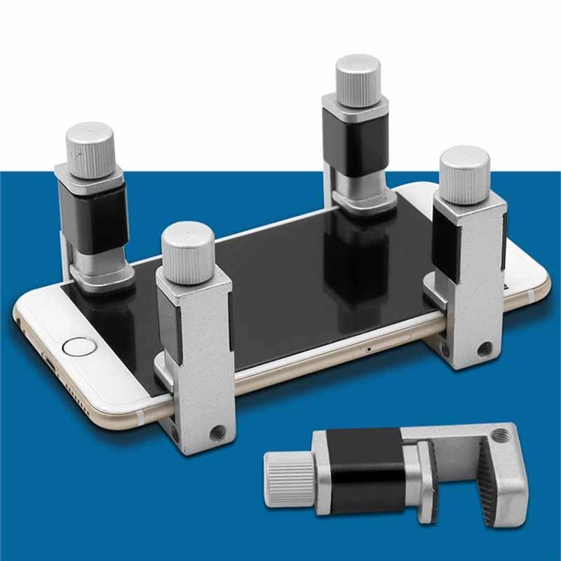 ZK30 4/6/pcs Phone LCD Screen Fixing Fixture Clip Set Phone Screen Fixed Repair Tools Metal Fastening Clamp Adjustable Tools