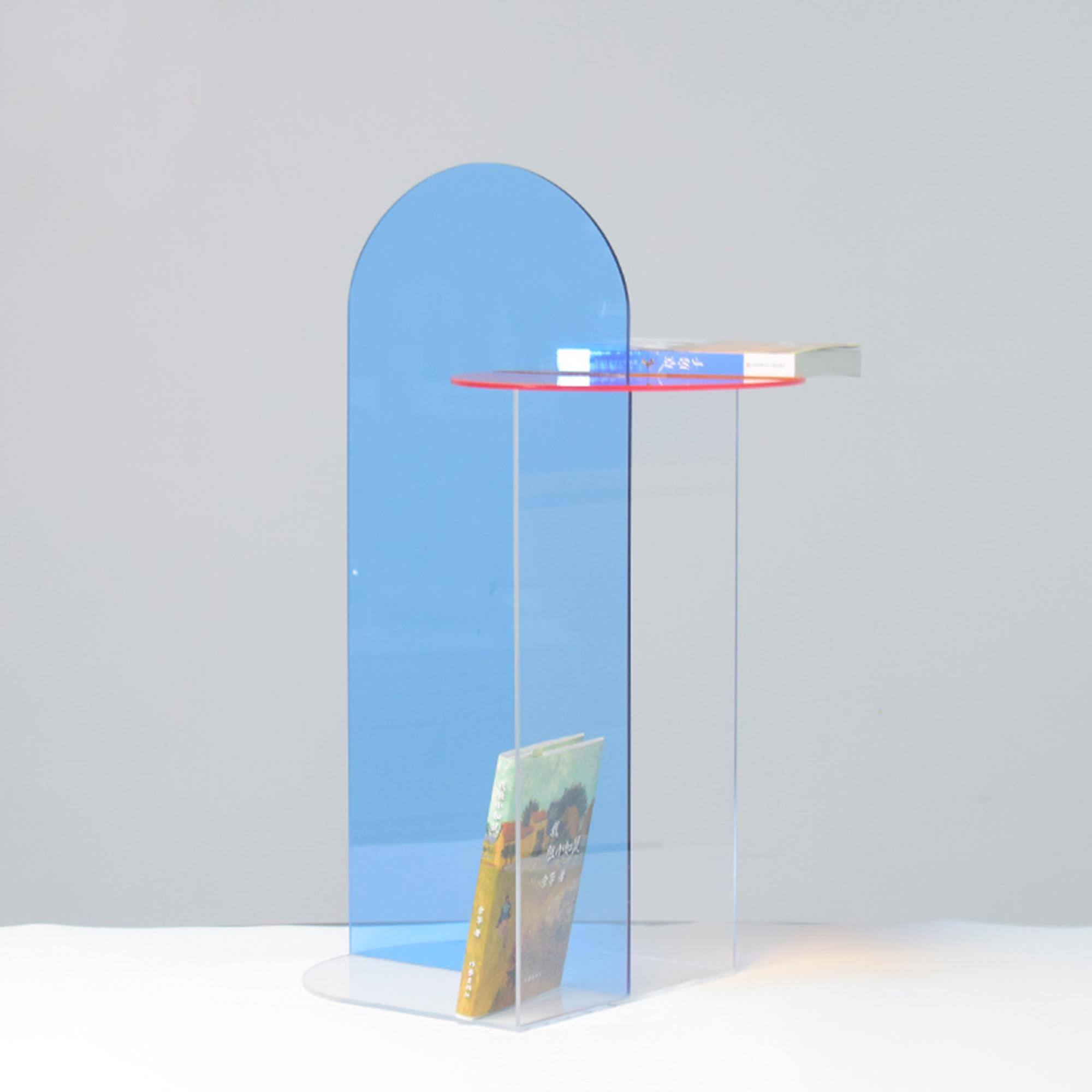 الاكريليك الإبداعية رف الكتب الزخرفية الشرفة تخزين رف شاشة الموضة هندسية الفن الحلي